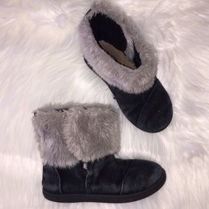 Toddler Girl TOMS Fur Boots